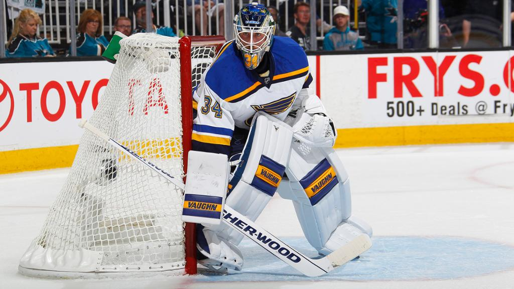 Jake Allen, Saint Louis Blues