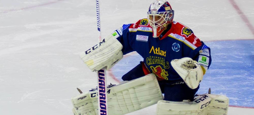 Travis Fullerton Goaltender with Edinburgh Capitals